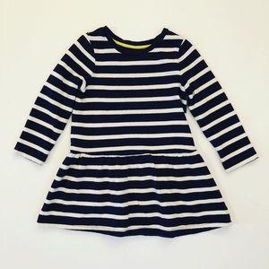 Mini Boden long sleeve striped dress